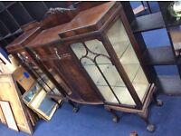 Wylie + Lockheed Gothic Display Cabinet