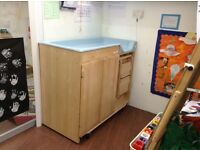 Changing table - Community Playthings brand - Professional Nursery furniture