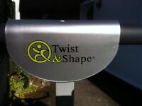 Twist & Shape exercise machine, see results in just 4 20 minute sessions a week!!
