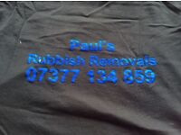 MAN IN VAN SERVICES/PAULS RUBBISH REMOVALS