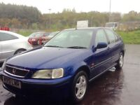 Low mileage Honda Civic 1.4iS full year mot cheap reliable 5 door hatchback