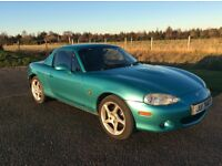 Mazda MX5 for sale 53000 miles. Note add d 18th. Jan. Price reduced to best offer