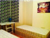 LOVELY DOUBLE/TWIN ROOM HABITACION DOBLE, 8 MNTS WALK CANNING TOWN, CANARY WHARF, STRATFORD, ZONE 2