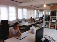 Great shared office space by Tower Bridge Road