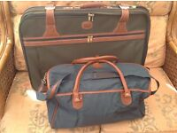 LARGE M&S SUITCASE AND FLIGHT BAG BOTH IN VGC