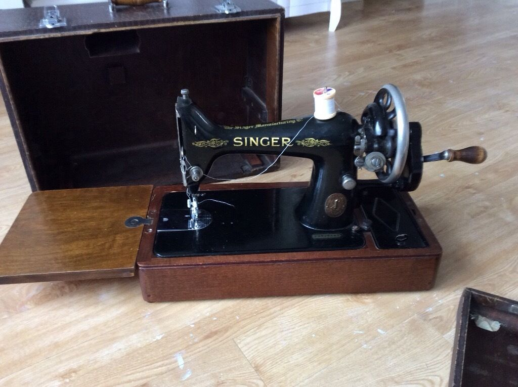 40 Singer Sewing Machine In Sheffield South Yorkshire Gumtree Unique 1935 Singer Sewing Machine