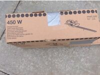 HEDGE TRIMMER - ELECTRIC - 450W - ONCE USED - BOXED