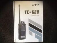 BNIB HYTERA TC620 UHF 4 WATT TWO WAY RADIO