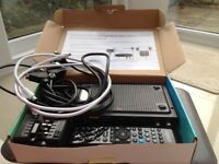 Talk talk you view box with power line adapters never used still in box