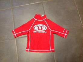 Childs rash vest, age 3-4 years