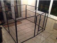 8 panel Heavy duty dog run puppy play pen big enough for large dogs and full litters