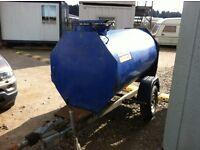 Fast tow bunded diesel tank