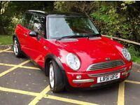 Mini Cooper 1.6 chilli pack 2001, 103328 miles, Bargain Price £1195