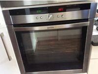 Neff hide and slide single oven. Occasionally trips fuse.