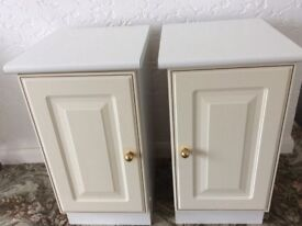 Two bedside cabinet