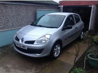 Renault Clio 2006 - MOT DECEMBER - Good runner, only selling due to miving away! 78000 miles