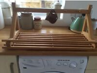 Kitchen shelf rack £7