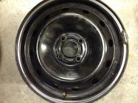 "4 x Renault 15"" 4x100 PCD ET43 Steel Wheels"
