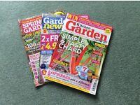 A Selection of 30 Garden Magazines