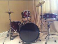 Drum Kit in Red (Children's)