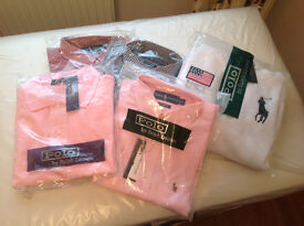 Ralph Lauren shirts and hoodie