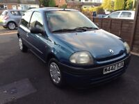 really nice low mileage, well looked after clio, engine, running gear and drive immaculate, BARGAIN