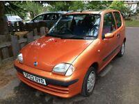 Fiat Seicento sx Spares or Repair 2002 78,000 car