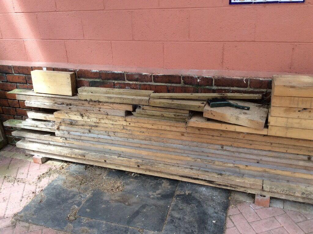 WOOD FOR SALEin Batley, West YorkshireGumtree - Wood beams for sale various lengths 12ft long 4x1 1/2have 5 planks.13ft 6x1 1/2 have 4 planks.8ft 6x1 1/2 3 planks.£25 for the lot