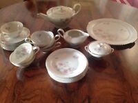 JOHAN HAVILAND PORCELAIN CHINA TEA SET/TABLEWARE