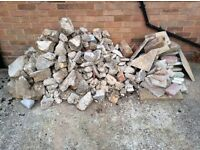 Small and large rubble