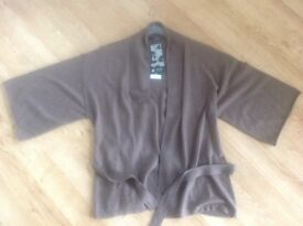 100% CASHMERE CARDIGAN BRAND NEW WITH TAGS