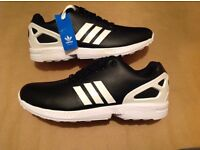 Men's adidas ZX Flux trainers size 9 UK
