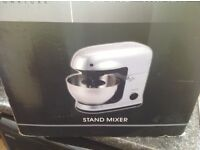 COOKWORKS FOOD MIXER . AS NEW, STILL IN BOX WITH INSTRUCTIONS AND ATTACHMENTS. Absolute bargain