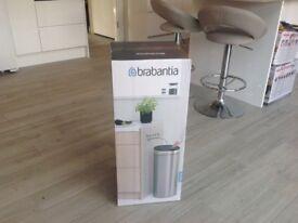 Brabantia touch top kitchen Bin (new) 30 litre-matt steel finish