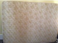 Great Condition Firm King Size Mattress 5' by 6'6 or European Size 150x200 CM CLEAN!