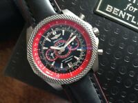 BREITLING BENTLEY SUPERSPORTS LIGHT BODY TITANIUM LIMITED EDITION CHRONOMETER BOX PAPERS WARRANTY