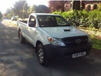 Toyota Hilux 2007 single cab 4wd MOT drive away 1 owner vehicle !!!