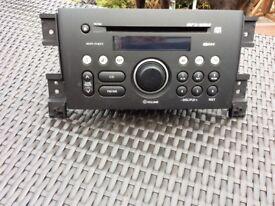 Suzuki Grand Vitara radio