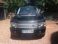 Range Rover Vogue in great condition for its age