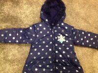 Age 3-4 Frozen Winter Jacket