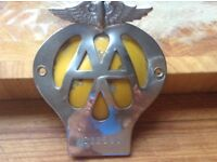 AA Badge 1964-5