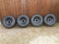 Off road tyres and wheels, Suzuki Jimny