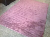 Large rug for sale width 5ft by 7.5 ft excellent condition bought from M&S 100 percent wool