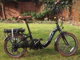 Electric Folding Bicycle - Rarely used and in excellent condition
