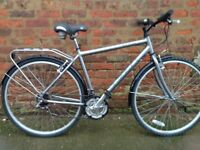 Raleigh parkway men's hybrid road commuter type bike, *postage available