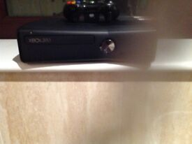 X Box 360 with 1 controller and all the leads