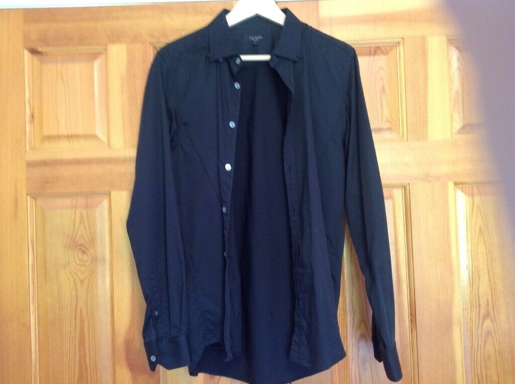 b21c4276a Ted baker black shirt size 4 . 40 chest