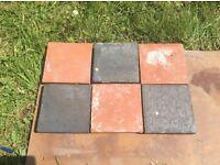 Old quarry tiles