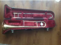 Yamaha trombone in hard case