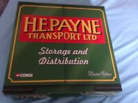 Corgi h.e.payne transport box set